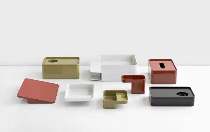 英国设计公司 Industrial Facility 为 Herman Miller 设计的收纳系统《Formwork》,风格干净、简单,获得今年 iF 产品设计类金奖。
