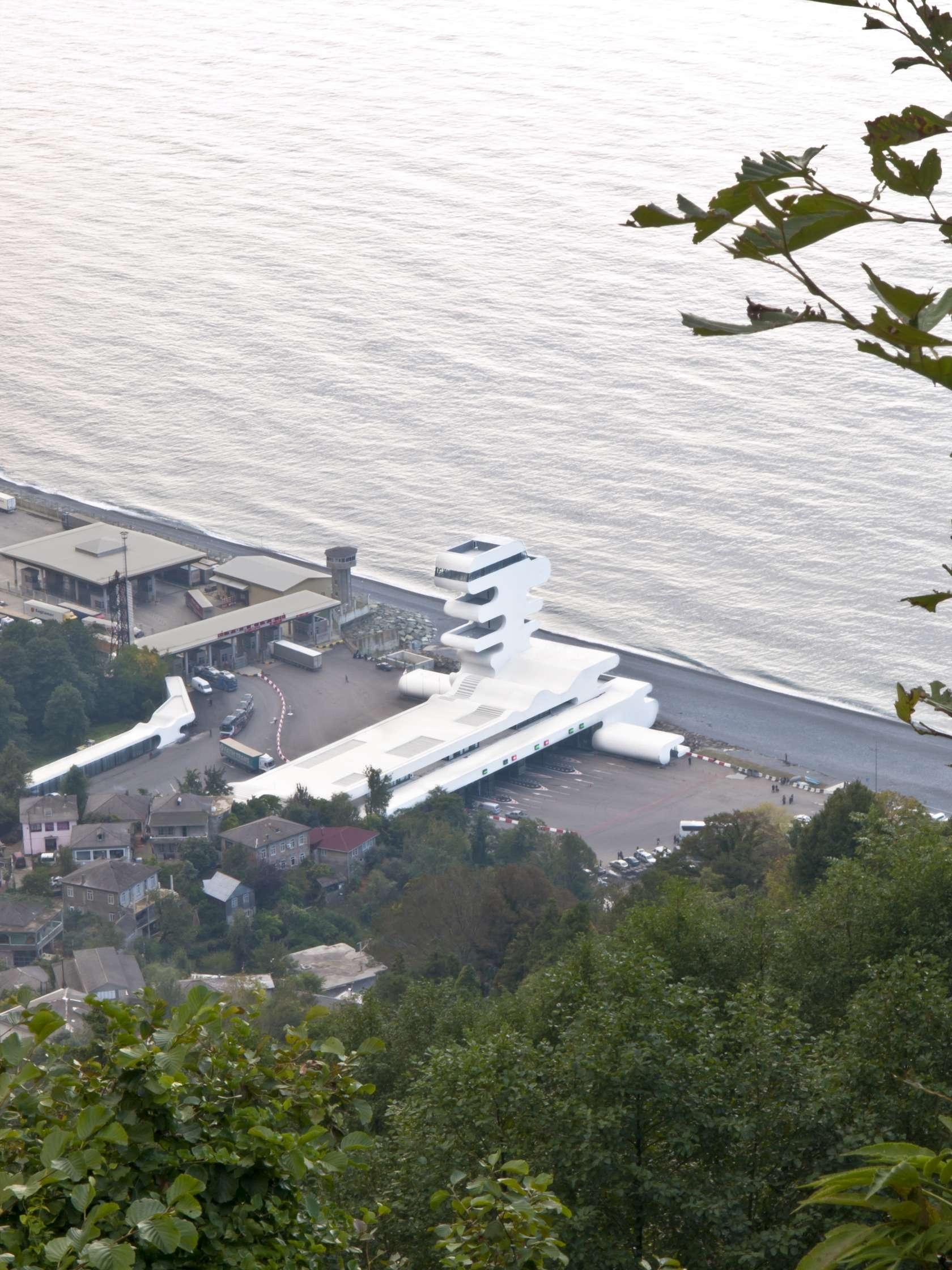格鲁吉亚边境检查站