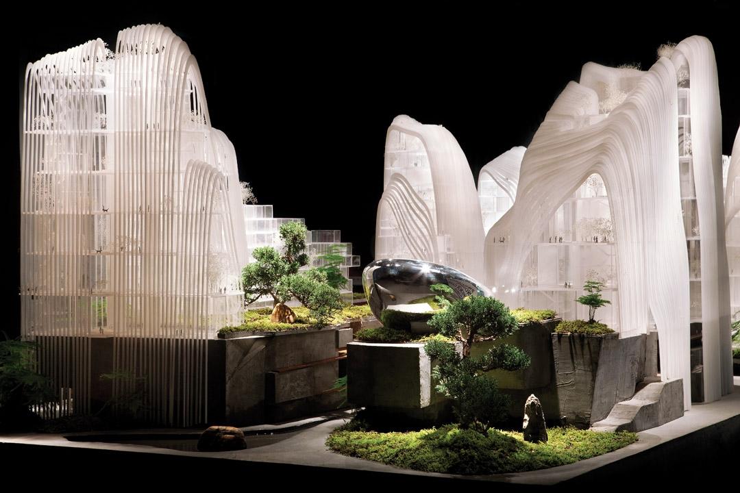 南京证大喜玛拉雅中心模型
