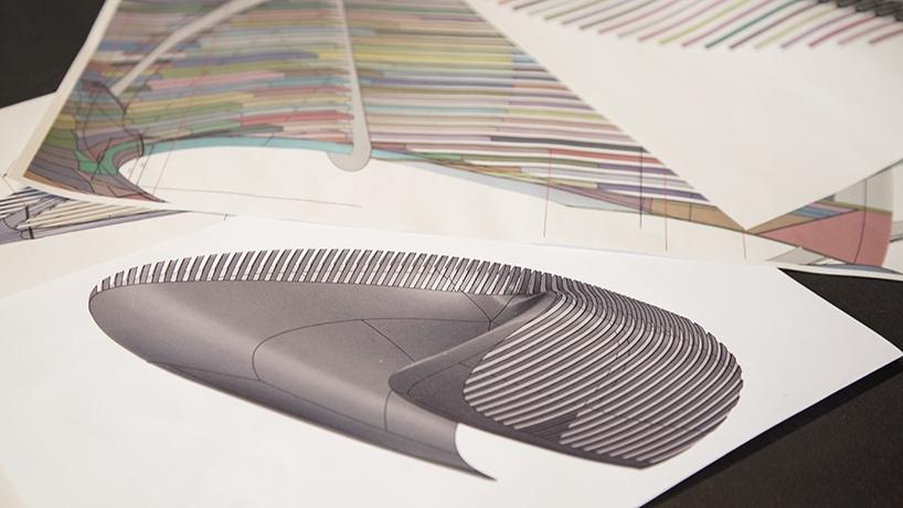 扎哈·哈迪德为georg Jensen打造动态展示装置