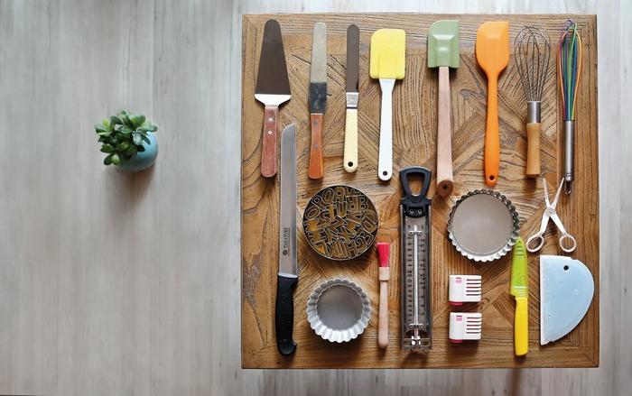 包瑞沁的烘焙工具