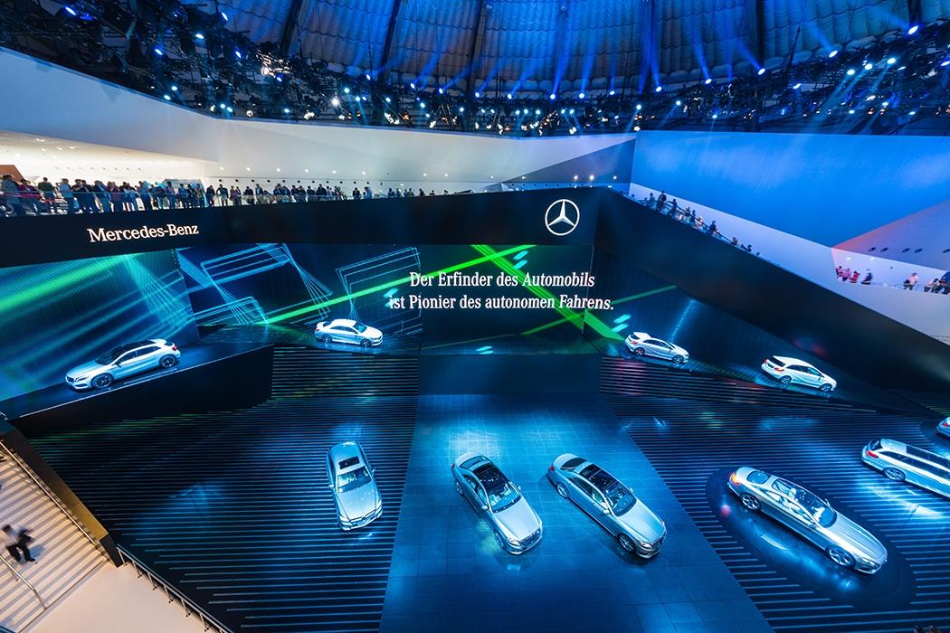 Mercedes-Benz奔驰 法兰克福车展