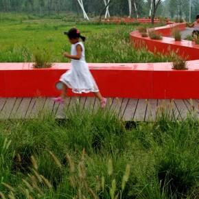 红飘带汤河滨河公园