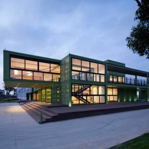 集装箱建筑: 上海多利农庄