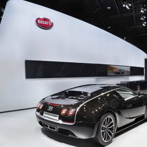 BUGATTI at auto show of china