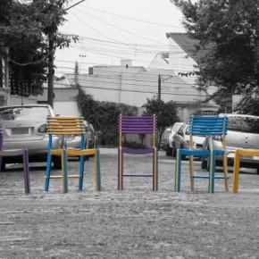 可以自由拆装的漂亮椅子