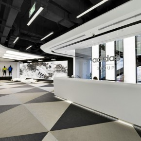 阿迪达斯中国区的总部设计-上海