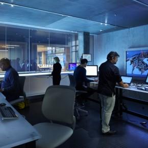 Microsoft 网络犯罪中心设计:环境很像电影场景