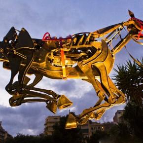 """飞天神马""""巴萨骑士""""将成2014北京国际设计周最酷""""代言人""""?"""