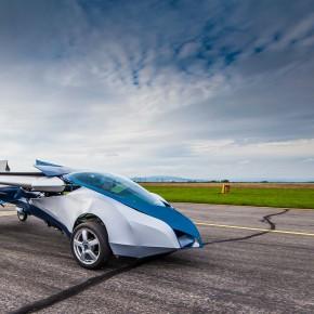 会飞的汽车flying car完成首次飞行 震惊世界