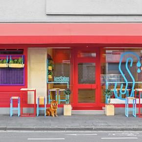 流行色彩应用——让零售店散发出地中海风情