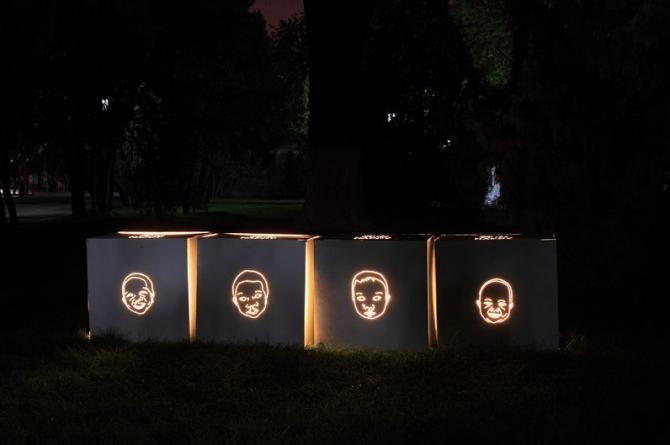 叶伟德灯光设计作品《开心》