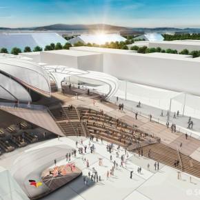 灵感的田野:2015年米兰世博会德国馆(高清大图)