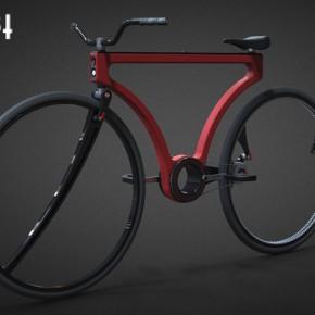 Twist:没有辐条的双向概念自行车