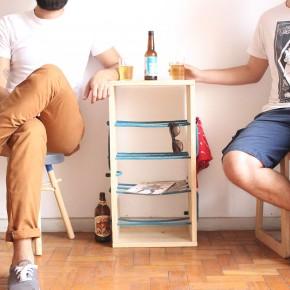 屌到不行的多功能可组合式家具——Nó