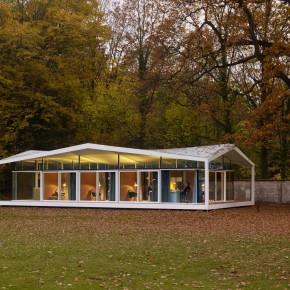 美国科学院:玻璃与钢结构建成的研究所