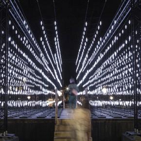 阿姆斯特丹灯光节作品—Alley of Light