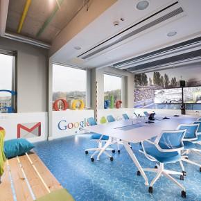 在水疗馆办公-Google布达佩斯总部