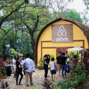 "Airbnb的高招儿:3D投影带你在新加坡""环游世界"""
