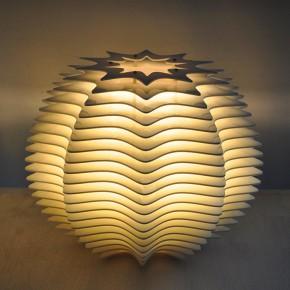 参数化技术打造千变万化的亚克力灯饰