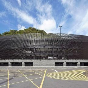 参数化设计改建的高品质立体停车场
