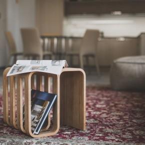 Woodieful Chair-是杂志收纳登又是边桌儿