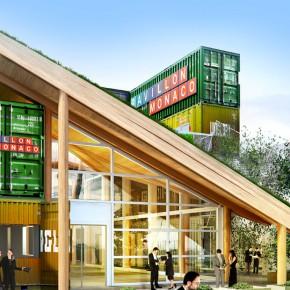 2015米兰世博会展馆设计——摩纳哥馆