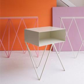 用钢材塑造现代极简风格家具