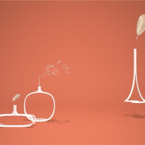 设计上海:你相信这是3D打印花瓶吗?