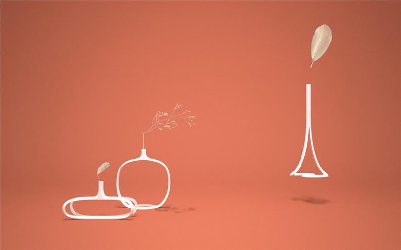 Zai Ye Design-3D vase-hisheji (4)