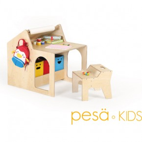 为孩子量身定制的童趣成长桌
