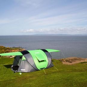 野营爱好者发明的大帐篷