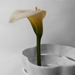 不抛弃,不浪费的大理石花瓶