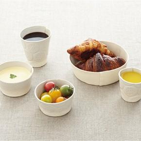 有触感的陶瓷餐具