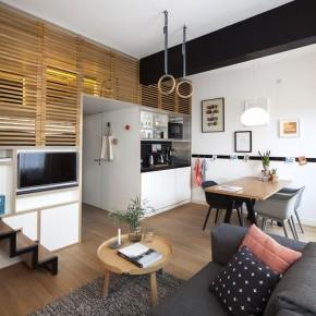 如家般温馨的25平米小公寓