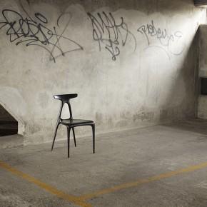 用数控槽刨技术制作的A实木椅