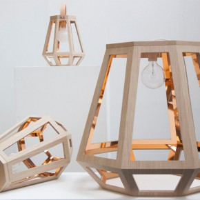 ZUID灯:灵感来源于设计师家乡的木屋和矿灯