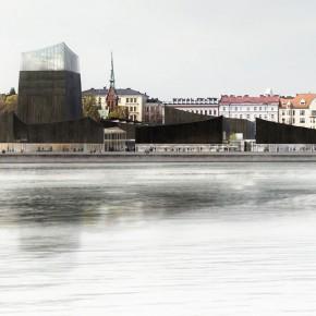 赫尔辛基古根海姆博物馆选定最终方案