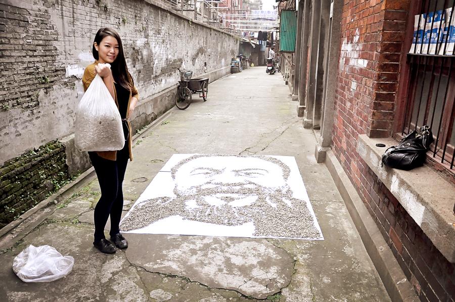 Red Hong Yi-Ai Weiwei-portrait-hisheji (5)