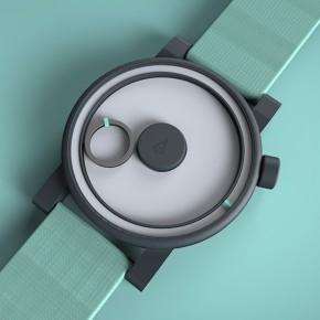 作为有个性的手表,指针是不能带玩儿的