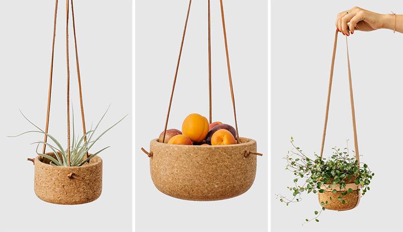 Melanie Abrantes-cork-leather-planter-hisheji (1)