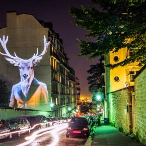 """投影在巴黎街头的""""城市旅行"""""""