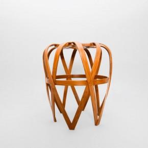 以传统竹编工艺诠释的现代美学作品