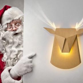 """圣诞节装一只""""长""""出犄角的驯鹿灯吧"""