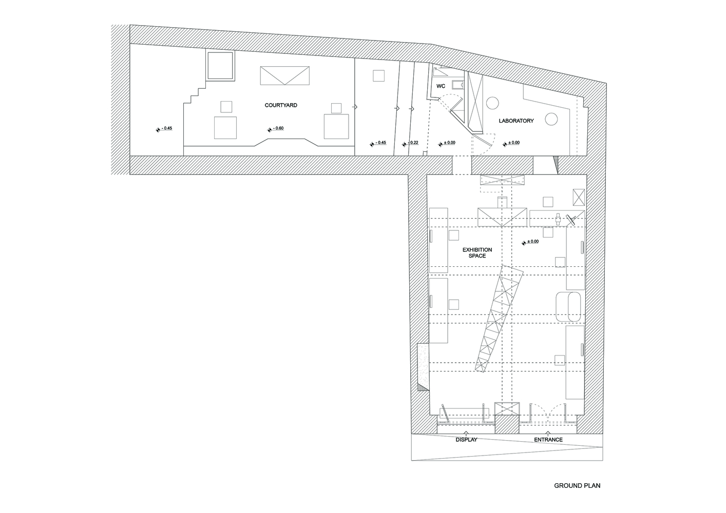314_Architecture_Studio-glasses_store_ground_plan-hisheji