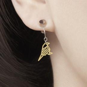 有故事的小耳环