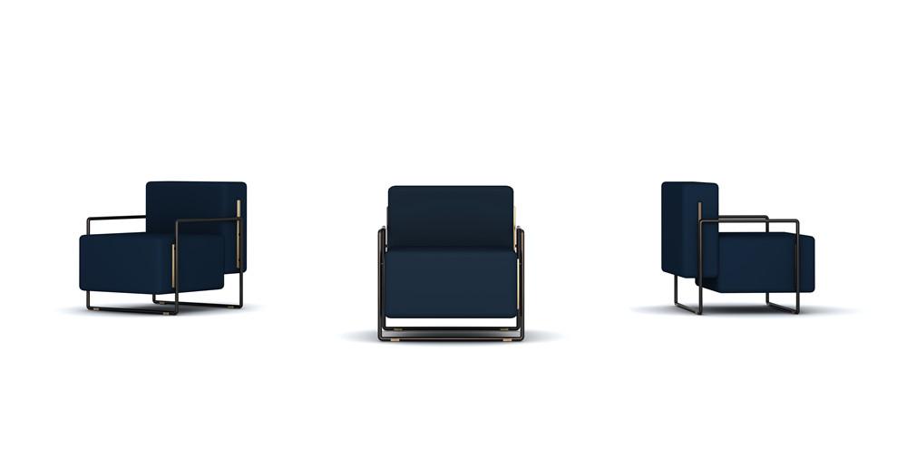 Frank Chou Design Studio_Frank Chou_Suit Lounge Chair_Hall E2-98