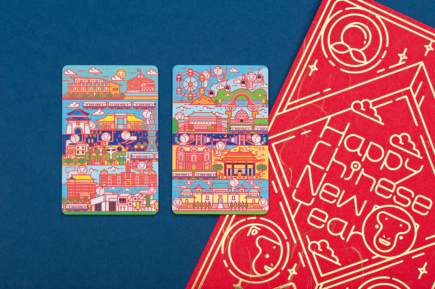 Year of the Monkey Commemorative Tickets 11