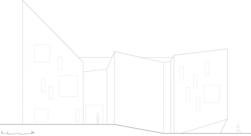 挪威小镇Romsdal民俗博物馆设计
