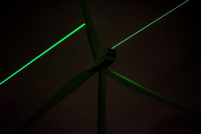 艺术家让绿色能源的美丽变得可视化